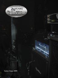 Guitar Amps 2009