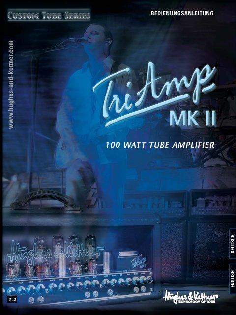 TriAmp MK II Bedienungsanleitung - SDS Music Factory AG