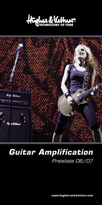 Guitar Amplification