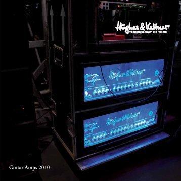 Guitar Amps 2010 - Hughes & Kettner
