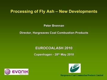 Processing of Fly Ash – New Developments - Ida