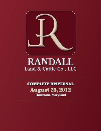 Randall - American Hereford Association