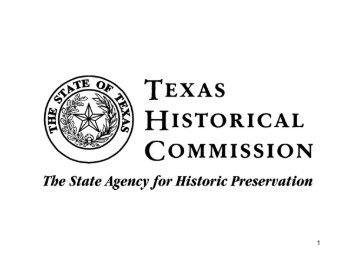 Historical Commission - Randall County