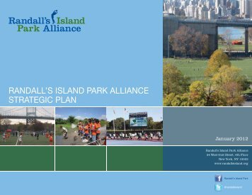 RANDALL'S ISLAND PARK ALLIANCE STRATEGIC PLAN