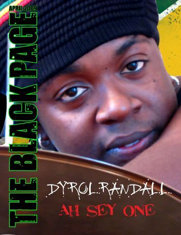 Dyrol Randall - The Black Page Online Drum Magazine
