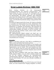 Ernst Ludwig Kirchner 1880-1938 - Kunst und Kunstunterricht