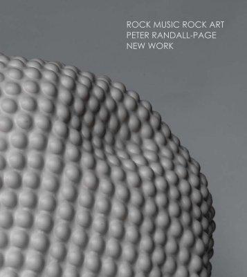 rock music rock art peter randall-page new work - Pangolin London