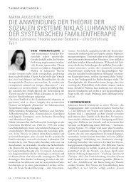 Familientherapie Schritt Bruder