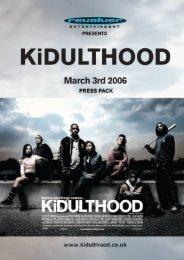 KiDULTHOOD SYNOPSiS - Tuft