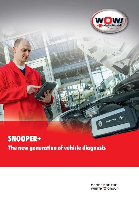 4301_4s SnooperPlus engl indd - WOW! Würth Online World GmbH
