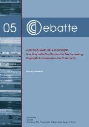 Download as PDF (English) - Centrum für Corporate Citizenship ...