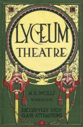Lyceum Theatre, Rochester, NY - GenWeb of Monroe County, NY