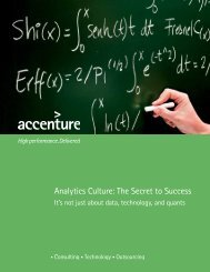 Analytics Culture: The Secret to Success