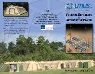 Thermal efficiency & alTernaTive Power - Utilis USA