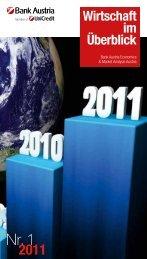 Wirtschaft im Überblick - Pfandbrief & Covered Bond Forum Austria