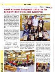 Bezirk Hannover bedeutend stärker als der - Badmintonteam ...
