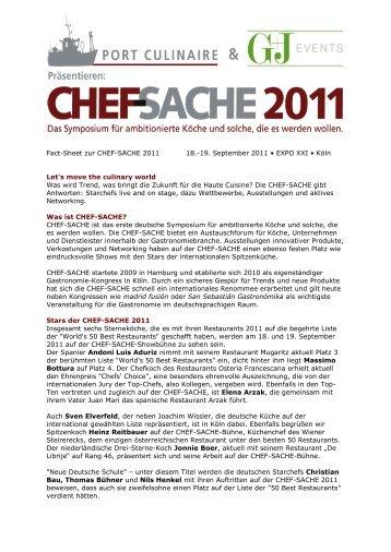 Fact-Sheet zur CHEF-SACHE 2011 18.-19. September 2011 • EXPO ...