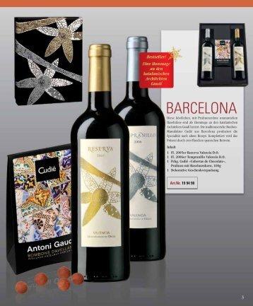 BARCELONA - Wielkie Wina