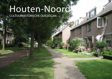 CULTUURHISTORISCHE QUICKSCAN - Gemeente Houten