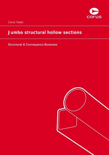 Jumbo structural hollow sections - Tata Steel