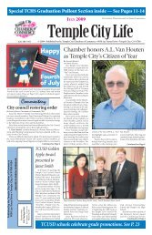 Chamber honors A.L. Van Houten as Temple City's Citizen of Year ...