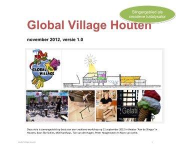 Global Village Houten - Bouwstenen voor Sociaal