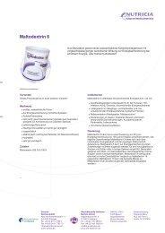 Maltodextrin 6 - Nutricia