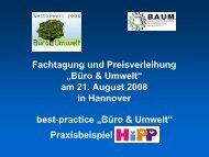 Hipp - Stiftung Arbeit und Umwelt