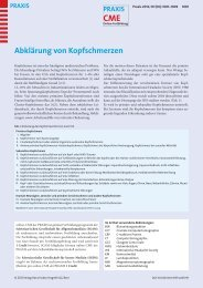 Abklärung von Kopfschmerzen - Berner Institut für Hausarztmedizin ...