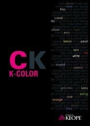 K-COLOR 20x20