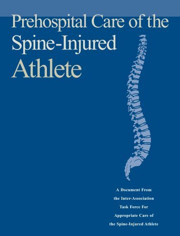 06846.02 NATA PreHospital S - North American Spine Society