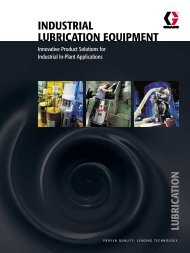 INDUSTRIAL LUBRICATION EQUIPMENT