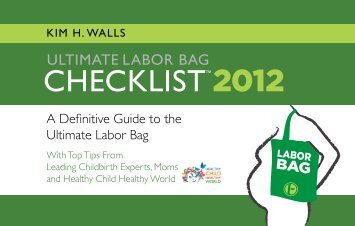 ultimate labor bag checklist 2012 - Episencial