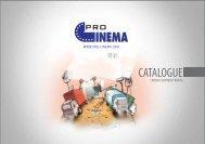 CATALOGUE - rental for cinema equipment