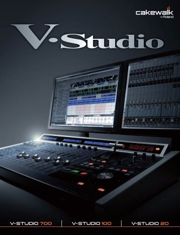 V-Studio Catalog - Roland Scandinavia a/s