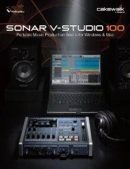 V-STUDIO 100 Brochure