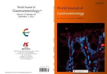 45 - World Journal of Gastroenterology