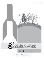 bottle cutter - Glass Art Patterns