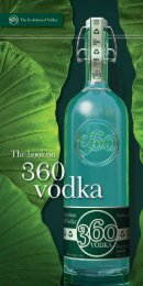 The Book On 360 Vodka