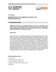Qualitätskriterien für Angebote zur Berufs- und Studienorientierung ...
