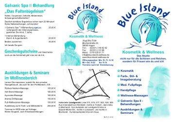 Das Faltenbügeleisen - Blue Island Kosmetik und Wellness
