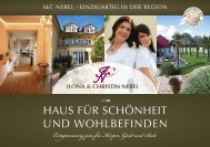 Day SPA- Arrangements - Kosmetikinstitut Ilona Nebel