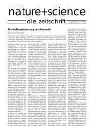 Die McDonaldisierung der Kosmetik - Kosmetik Institut Wellness ...