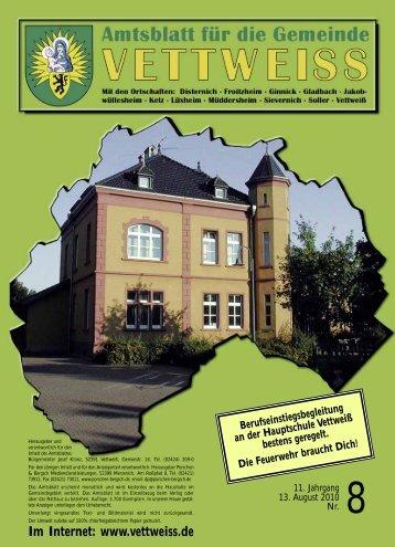 August 2010 - Gemeinde Vettweiss