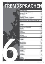 6 fremdsprachen - Volkshochschule Hannover