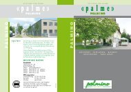 P A L M I N O P A L M I N O - Stiftung zur Palme