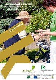 Das bessere Leben beginnt jetzt! - Green Care in Wien