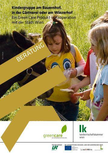 Kindergruppe am Bauernhof, in der Gärtnerei oder am Winzerhof ...
