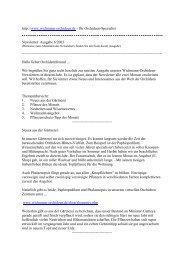 Ausgabe 06 - Orchideen Zentrum Wichmann GmbH