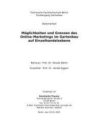 Möglichkeiten und Grenzen des Online-Marketings im Gartenbau ...